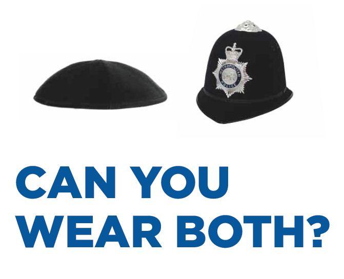 Metropolitan police advert