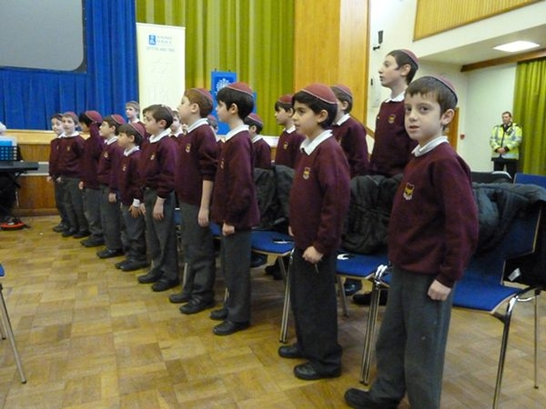 Choir of Hasmonean Primary School