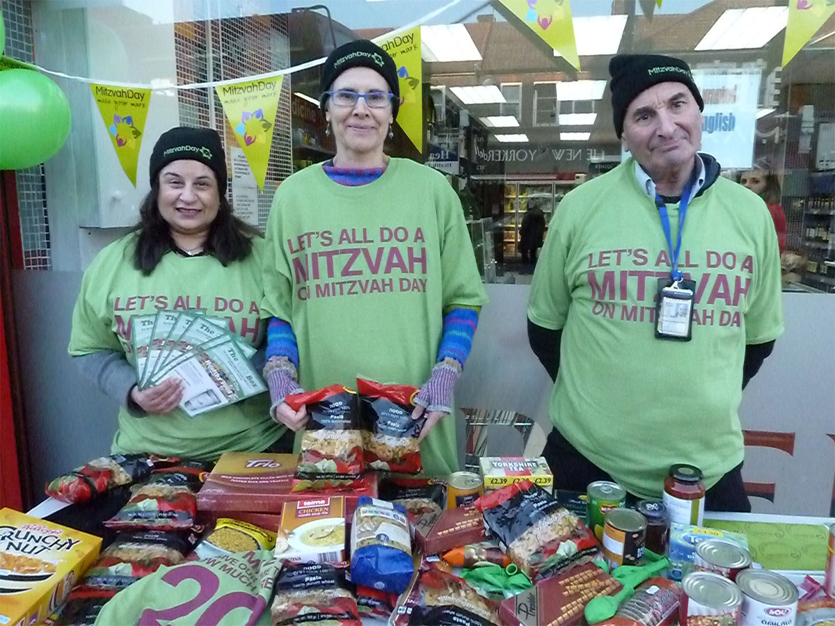 JPA supporting Mitzvah Day