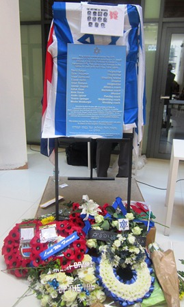 JPA supports memorial service to Munich Olympic victims